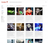Фотогалерея на wordpress от ThemeForest: Exhibit