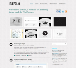 Премиум тема WordPress от WooThemes: Elefolio