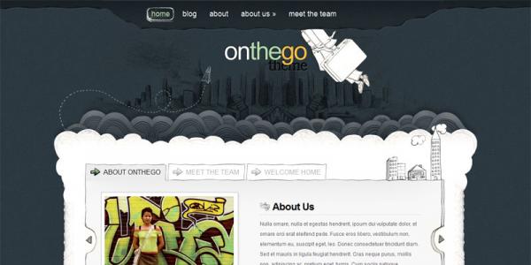 Премиум тема WordPress от ElegantThemes: OnTheGo