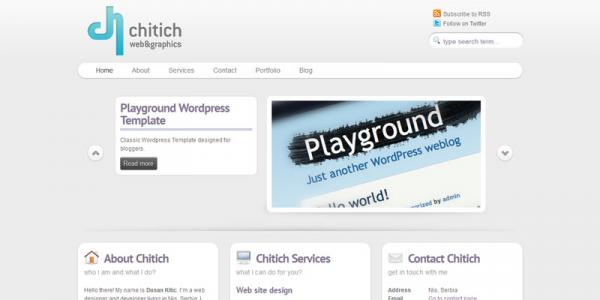 WordPress тема от ThemeForest: Small Business