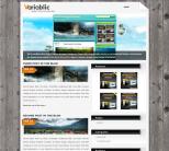 Премиум тема WordPress от Wobzy: Variablic