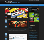 Премиум тема для WordPress от ThemeForest: Apollo