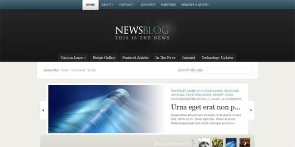 Премиум шаблон для wordpress от ElegantThemes: eNews v2.1