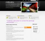 Портфолио тема для wordpress от Wobzy: Motivatic