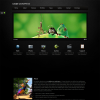 Шаблон визитка для wordpress от Themeforest: Locus One Page