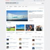 Новостной шаблон wordpress от Themeforest: News Magazine 24