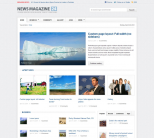 Новостной шаблон wordpress от Themeforest: News Magazine 24