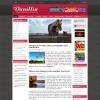 Розовый новостной шаблон wordpress: Vanillia