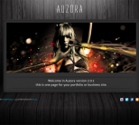 Портфолио тема wordpress от ThemeForest: Auzora