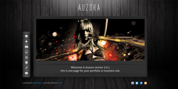 Портфолио тема wordpress от ThemeForest: Auzora