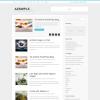 Блоговая руссифицированная тема для wordpress: Azsimple