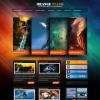 Яркая премиум тема для wordpress: Orange Flash