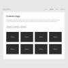 Портфолио шаблон для wordpress: MiniFolio