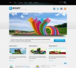 Портфолио шаблон для wordpress: Boldy