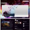 Новостная музыкальная тема wordpress: SoundWaves