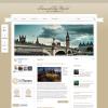 Туристический новостной шаблон wordpress: RoundTheWorld