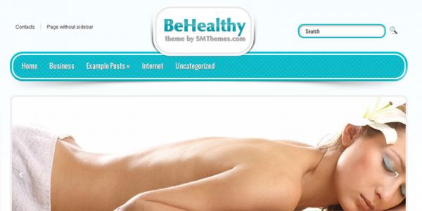 Медицинский новостной шаблон для wordpress: BeHealthy