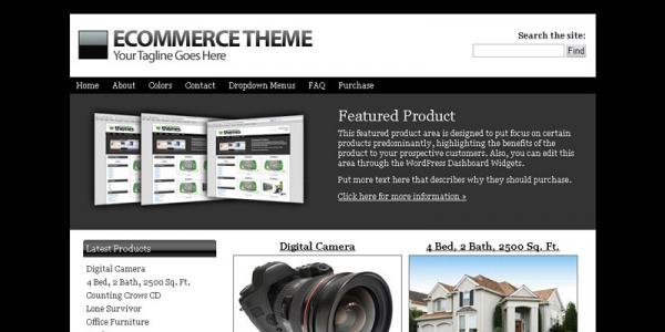 Тема магазина на wordpress от iThemes: E-commerce