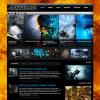 Темный премиум шаблон для wordpress от ThemeForest: Juggernaut