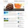 Кулинарная тема для wordpress: Diell