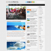 Серый шаблон для wordpress: TimePress