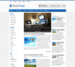 Hi-tech шаблон для wordpress: TechTime
