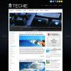 Технологичный блог для wordpress: Techie