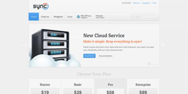 Бизнес-шаблон WordPress от YOOtheme: