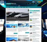 Автомобильная новостная тема wordpress: LimoPress