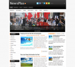 Газетная тема для wordpress: NewsPlus