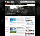 Игровая тема для wordpress: HitGames