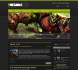 Игровая тема для wordpress: TheGame