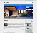 Интерьерная тема для wordpress: Realty