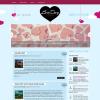 Романтический шаблон wordpress: LoveDay