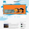 Дизайнерская тема для wordpress: ArtDevil