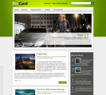 Бизнес шаблон для wordpress: BizCard