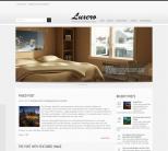 Нейтральный шаблон wordpress: Luxero
