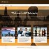 Бизнес шаблон для wordpress: Advocate