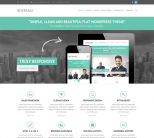 Премиум тема для wordpress: Interface