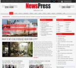 Новостной шаблон для wordpress: NewsPress