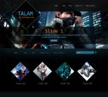 Игровая тема wordpress: Talam