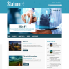 Бизнес тема для wordpress: Statum