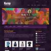 Креативный новостной шаблон wordpress: Kurep