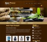 Здоровье и красота в теме wordpress SpaPress