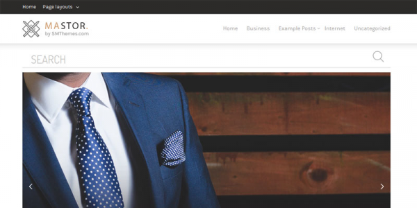 Mastor —  стильный шаблон для wordpress