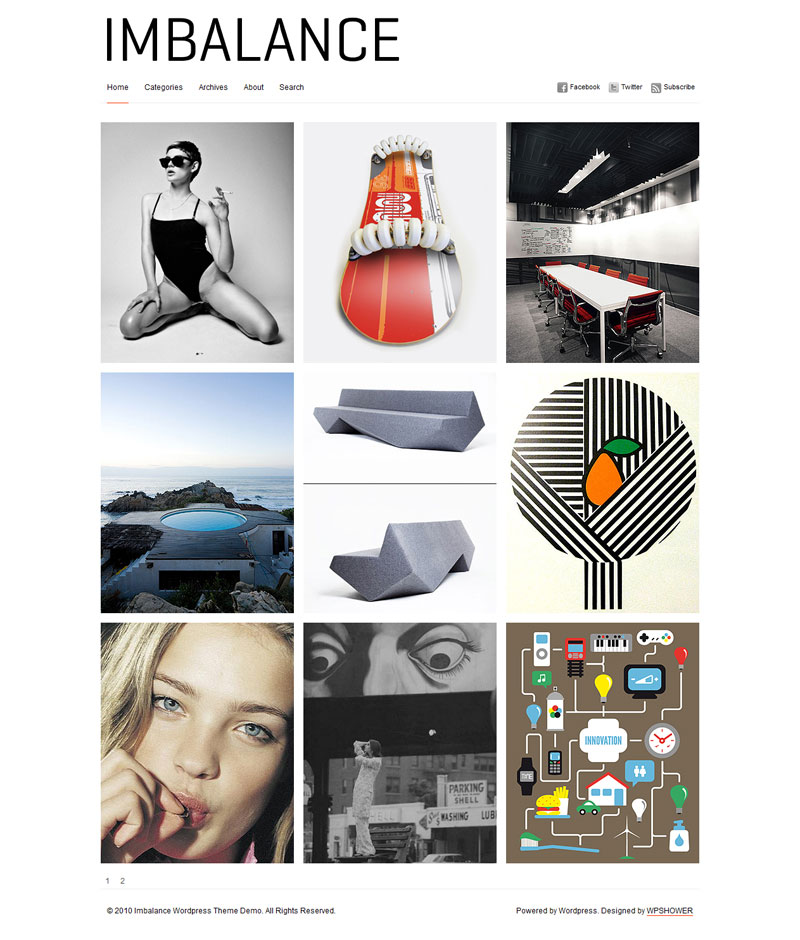 Stanleywp responsive  free portfolio wordpress themes